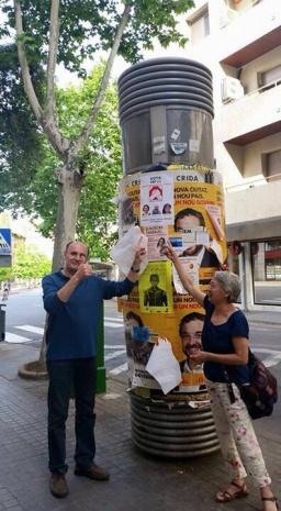 Antonio y Valentina Carteles Sabadell