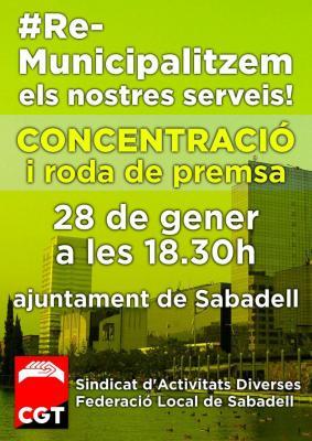 Municipalización Servicios Sabadell