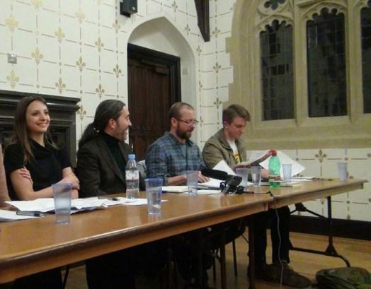 1 P's vs Syriza - Nano Eva, Jeff y Enric -Cambridge