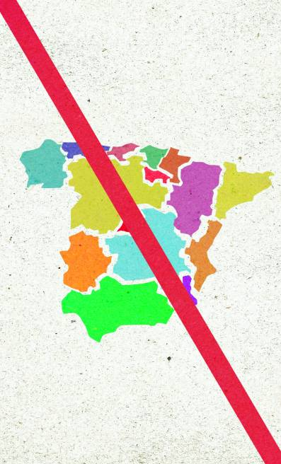 Ilustración Contra Budesrat español - Raquel Marín