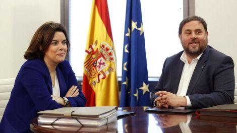 Gobierno-Soraya-Santamaria-Generalitat-Junqueras_1004309645_6183827_1020x574 Vozpópuli