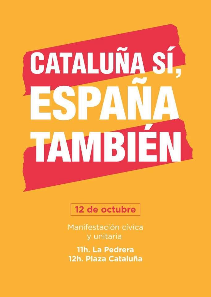 Cataluña Sí, España También (Hispanidad 2017)