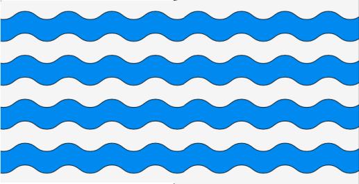 Bandera Layetania-Cosetania ondas plata y azur r2