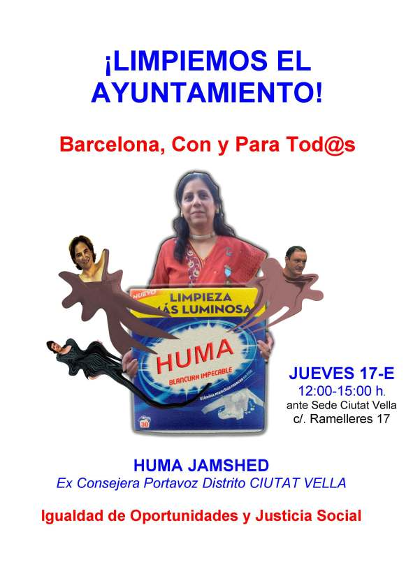 huma's poster for january protest rev