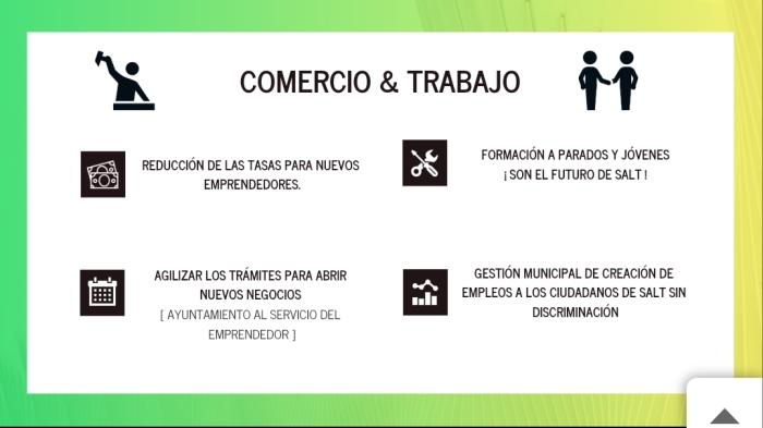 Salt St Jordi Propuestas Comercio y Trabajo