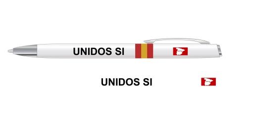 Bolígrafo UNIDOS SI De Luxe