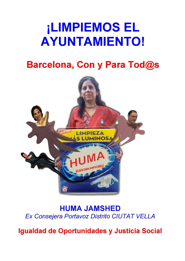 Huma's Poster for March Protest REV