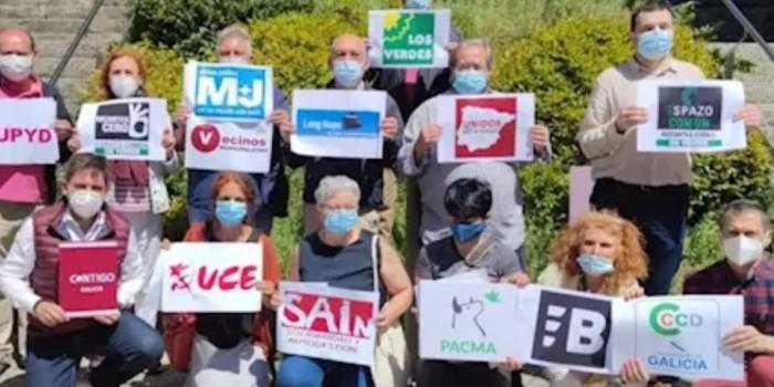 Protesta ante Valedora do Pobo en Galicia R2