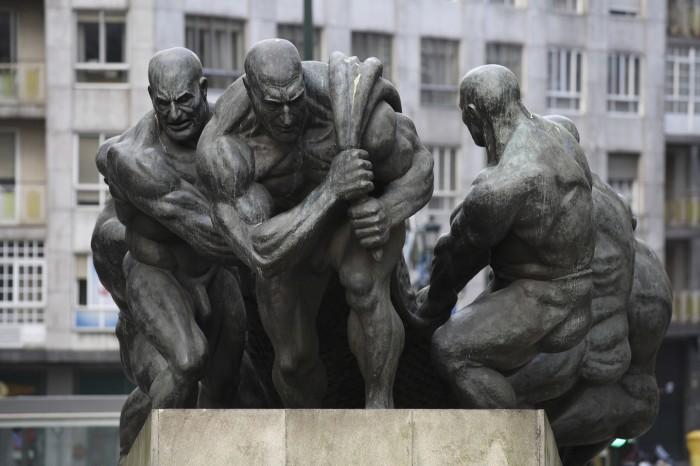 Vigo Monumento al Trabajo